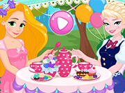 Play Disney Princesses Tea Party