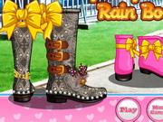Play Diy Stylish Rain Boots