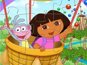 Play Dora And Boots Jigsaw
