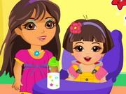 Play Dora Babysitter
