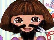 Play Dora Beard Shave