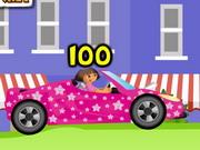 Play Dora Car Racing