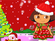 Play Dora Christmas Games