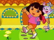 Play Dora Collect Butterflies