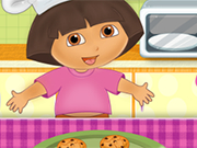 Play Dora Cooking Crackers
