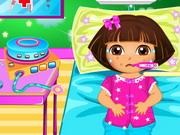 Play Dora Disease Doctor Care