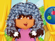 Play Dora First School Day Haircuts