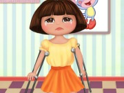 Play Dora Foot Doctor