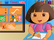 Play Dora Fun Slacking