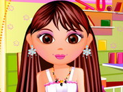 Play Dora Hair Cut