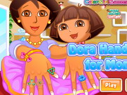 Play Dora Hand Spa For Mom
