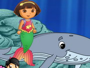 Play Dora Mermaid Activities