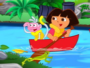 Play Dora River Cleaning
