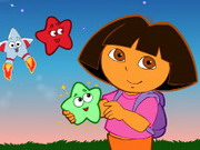 Play Dora The Explorer - Star Catching