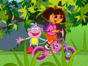 Play Dora Uphill Ride
