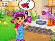 Play Dora Vegetable Planting