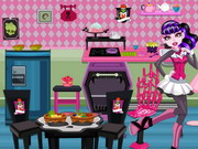 Play Draculaura Kitchen Decoration