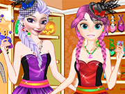 Play Elsa And Anna Freaky Shop