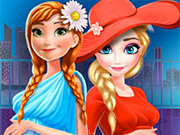 Play Elsa And Anna Pregnant Mall Shopping
