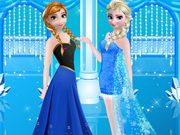 Play Elsa And Anna Prom Makeover