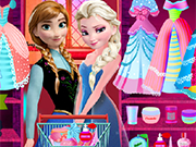 Play Elsa and Anna Prom Prep