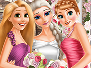 Play Elsa And Princesses Wedding