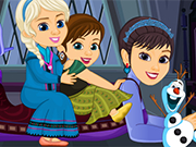 Play Elsa Anna and their Mom