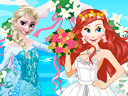 Play Elsa at Ariel Wedding