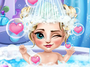 Play Elsa Baby Bath