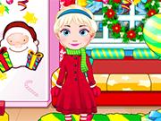 Play Elsa Baby Celebrate Christmas