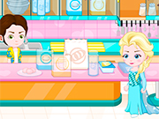 Play Elsa Baby Lovers Make cookies