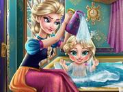Play Elsa Baby Wash