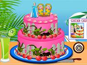 Play Elsa Beach Cake