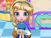 Play Elsa Bed Time