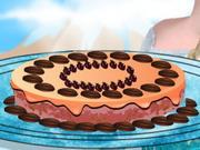 Elsa Brownie Cake