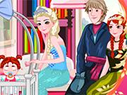 Play Elsa Care Anna's Baby