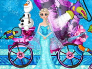 Play Elsa Carriage Wash