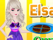 Play Elsa Cooking Chunky Cheesecake Brownies