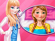 Play Elsa Doctor Taking Care Of Anna