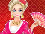 Play Elsa Exploring China