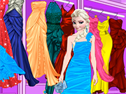 Play Elsa Fancy Dress Up