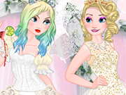 Play Elsa Good vs Naughty Bride