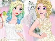 Play Elsa Good vs Naughty Bride