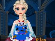 Play Elsa Halloween Cake