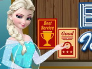 Elsa Ice Cream Shop