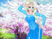 Play Elsa in Anime World