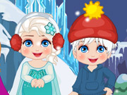Play Elsa New Year Slacking