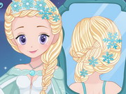 Play Elsa Real Wedding Braids