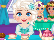 Play Elsa Royal Ball Slacking