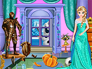 Play Elsa Royal Castle Makeover